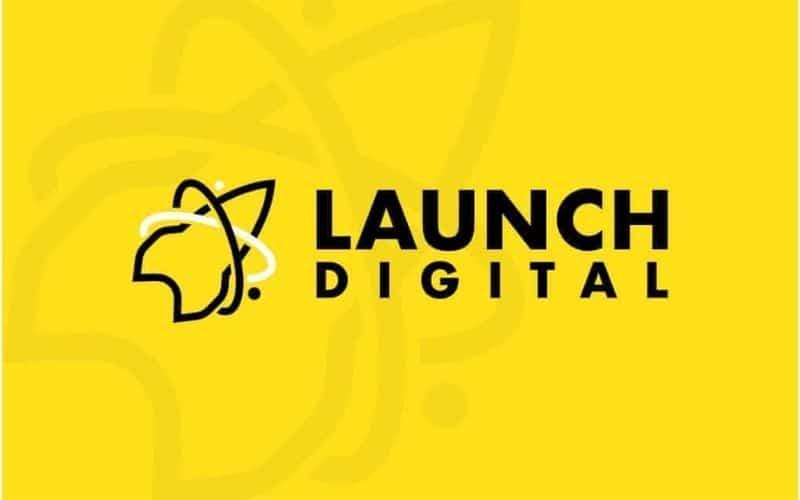 launch digital banner