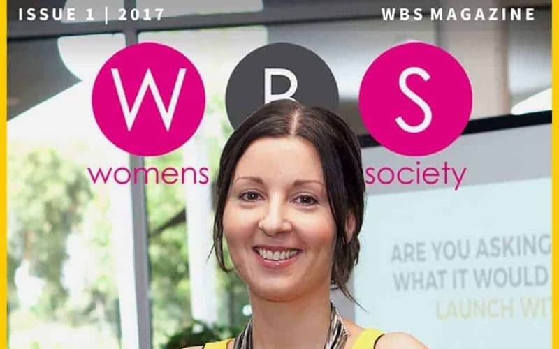 womens business society magazine issue1 tina okey